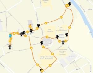 Route Zot van Aalst