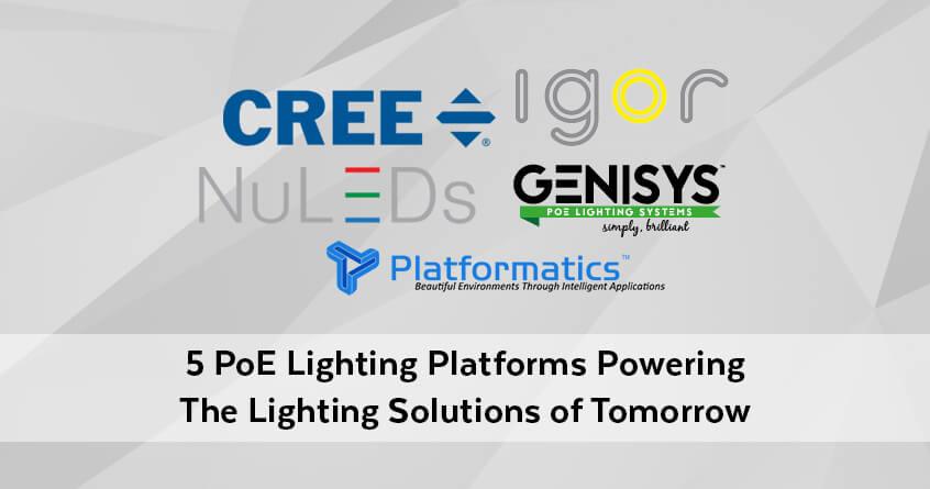 5 poe lighting platform powering the