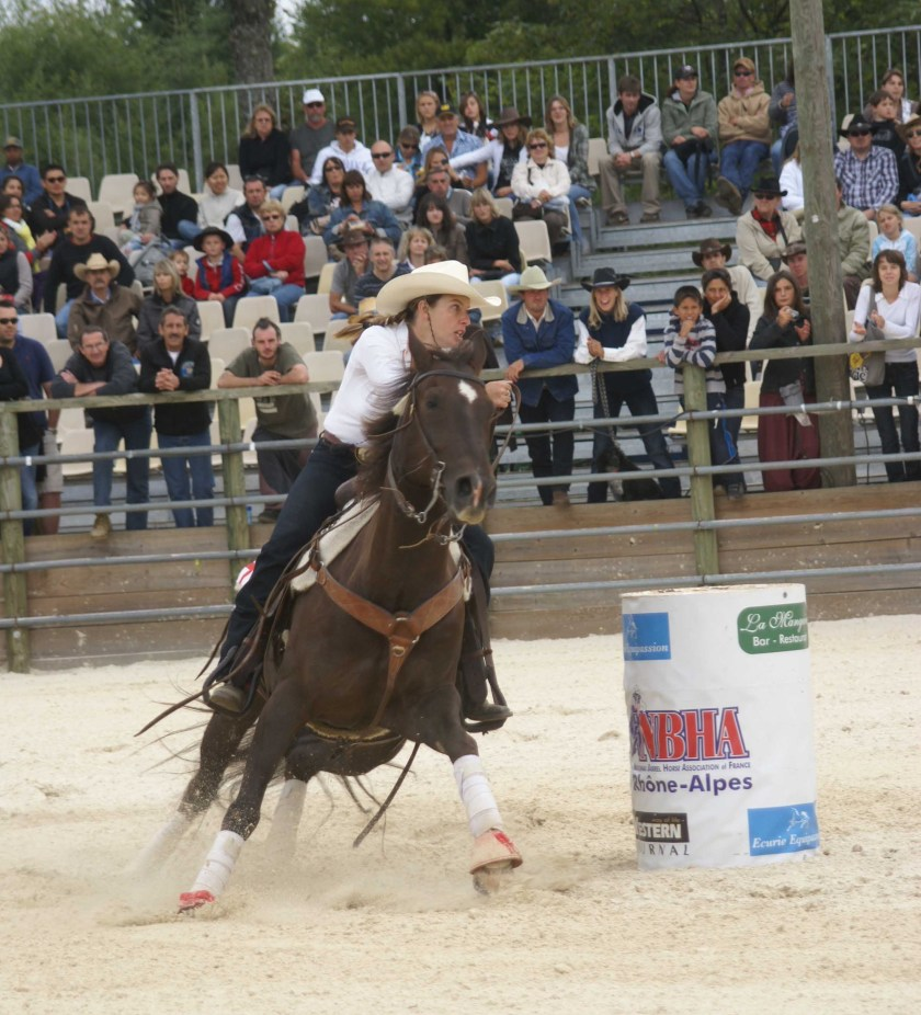 Cindy barrel racing