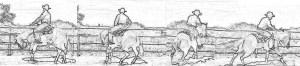 Western Horse Rollback