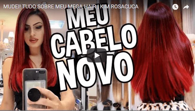 O Mega Hair da Kim RosaCuca