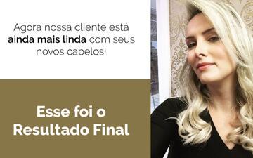 Confira o Mega Hair da jornalista Fabiane Vasconcellos