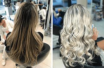 Mega Hair + Mechas um resultado ainda mais lindo !
