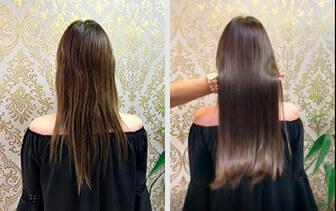 Cabelo longo e brilho com Mega Hair