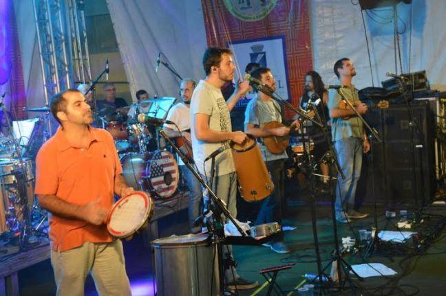 Banda carioca Casuarina deu show no carnaval 2017 de Natal. Foto - Marco Polo - Secom Natal