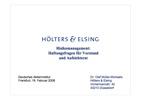 Risikomanagement: Haftungsfragen für Vorstand und Aufsichtsrat
