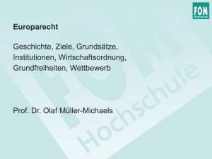 FOM: Europarecht 2015