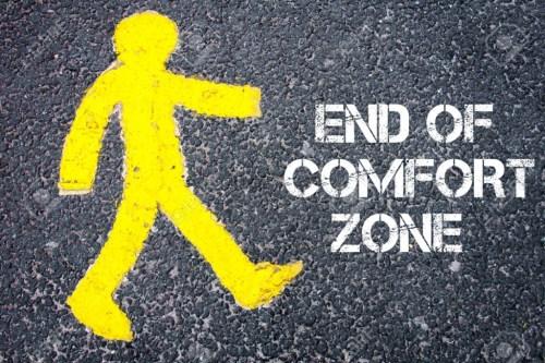 entusiasmo - zona de conforto