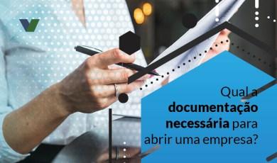 documentação para abrir uma empresa