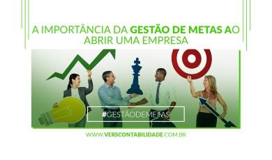 A importância da gestão de metas ao abrir uma empresa - 390X230px