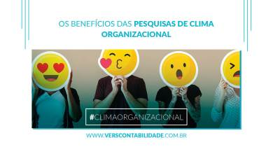 Os benefícios das pesquisas de clima organizacional - site 390x230px
