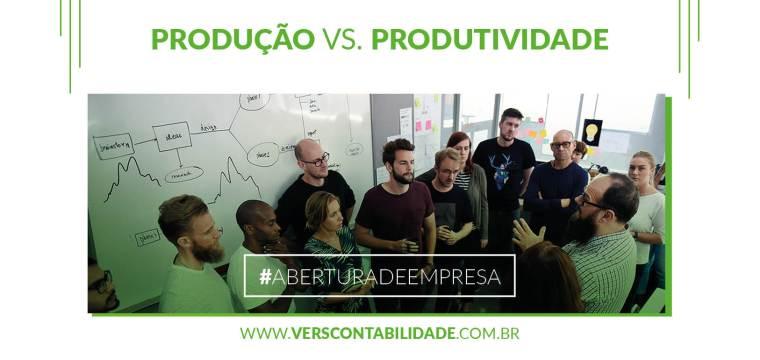 Produção vs. Produtividade - 390X230px