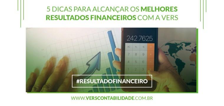 Resultados Financeiros com a Vers