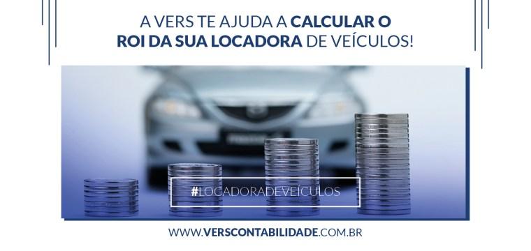 A Vers te ajuda a calcular o ROI da sua Locadora de Veículos