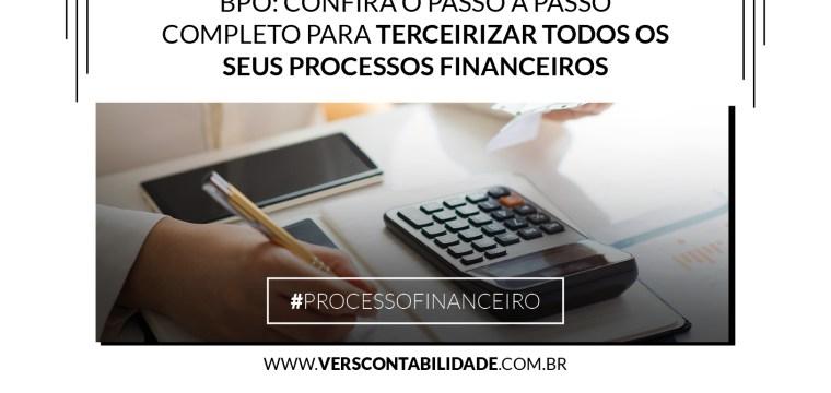 Passo a Passo Terceirizar Processos Financeiros