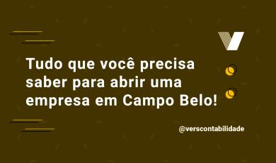 Abrir empresa em Campo Belo