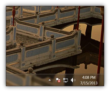 Disable Show Desktop Button in Windows 7