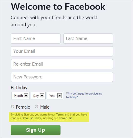 Facebook use your name