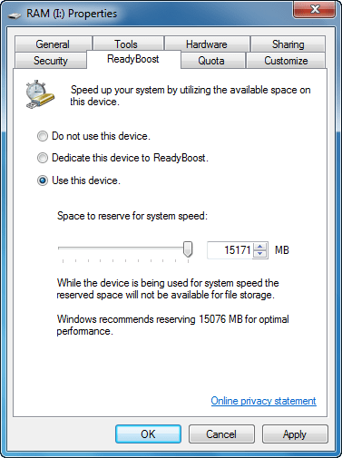 Spped up Windows system