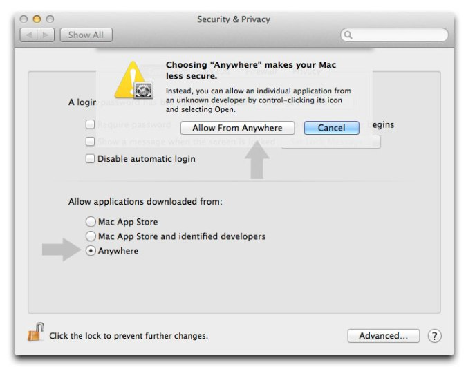 Install Third Party Apps on Mac OS X