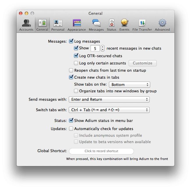 Adium for Mac