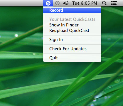 Create 3 Minute Video on Mac using QuickCast