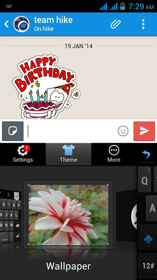 TouchPal X Keyboard for Android