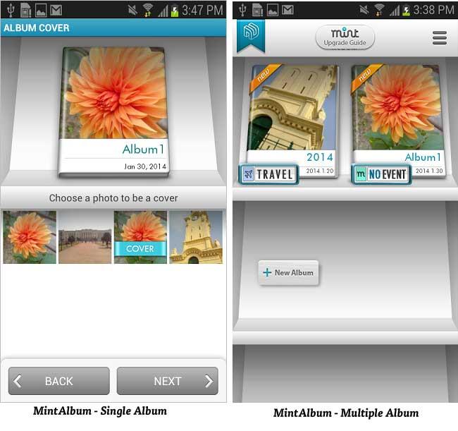 Mint Album – Photo Management App for Android