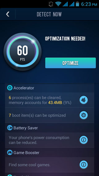 du speed booster optimization