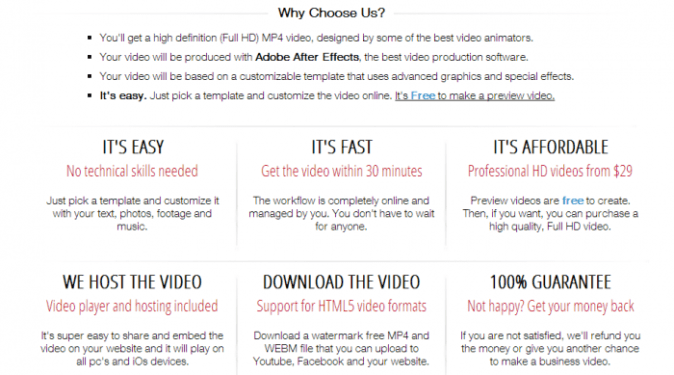 Create Easy Animated Explainer Videos with MakeWebVideo
