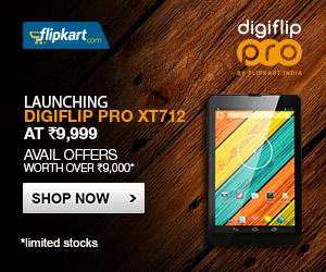 Flipkart Digiflip Pro XT712 offer