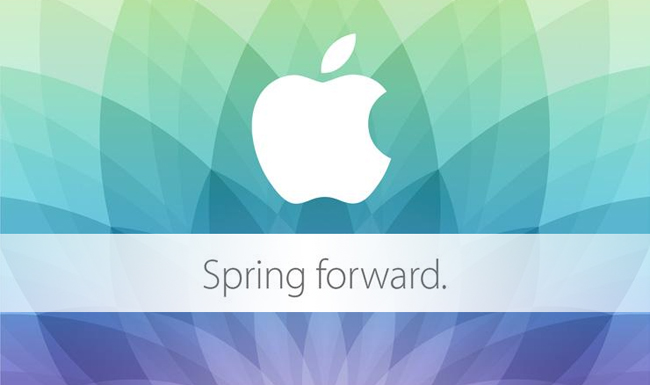 Apple calls media to its Spring Forward Event