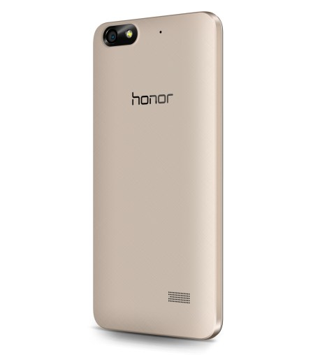 Honor 4c Golden Back 45Angle