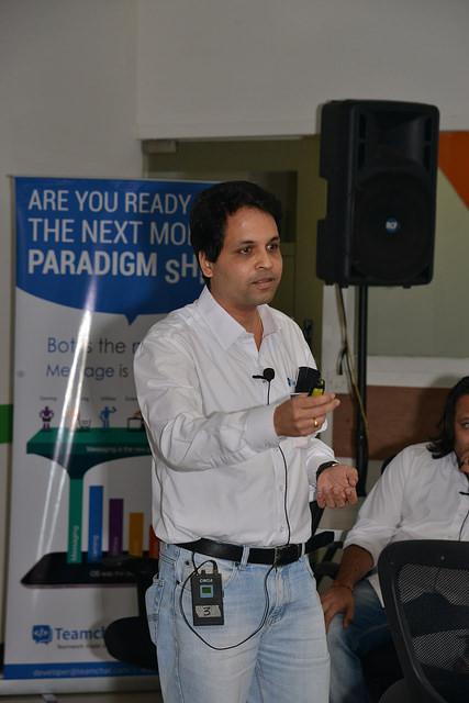 Mr.Kunal Patke, VP - Engineering, Teamchat
