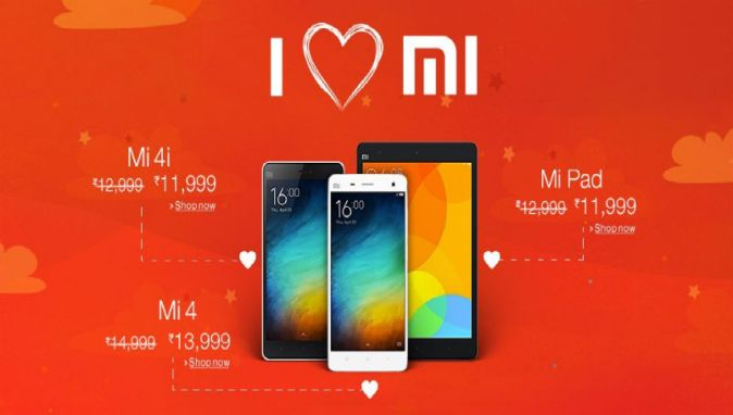 Xiaomi Mi 4, Mi 4i and Mi Pad discount deals on Amazon India