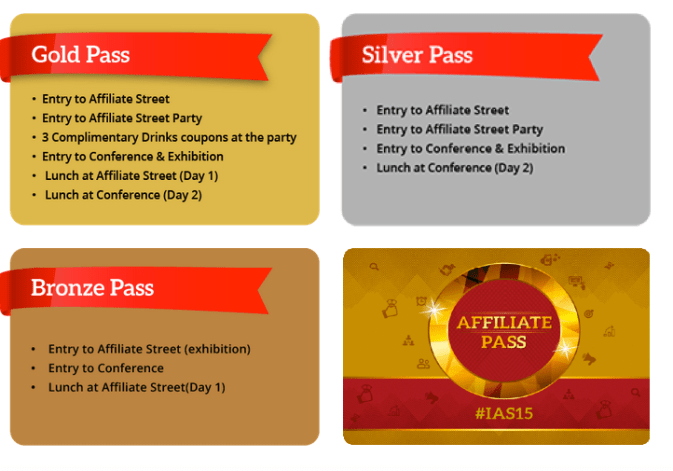 India Affiliate Summit Passes