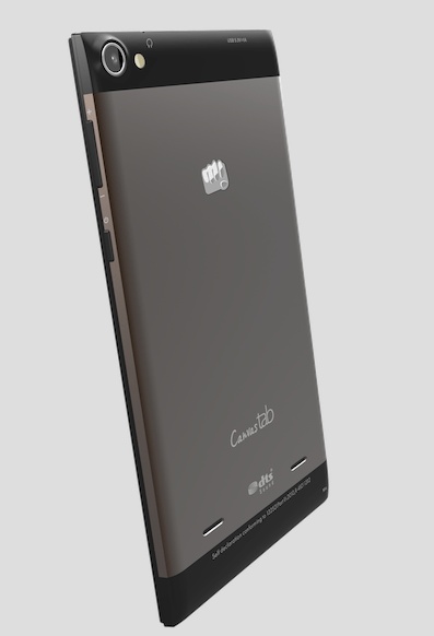 Micromax Canvas Fantabulet Back