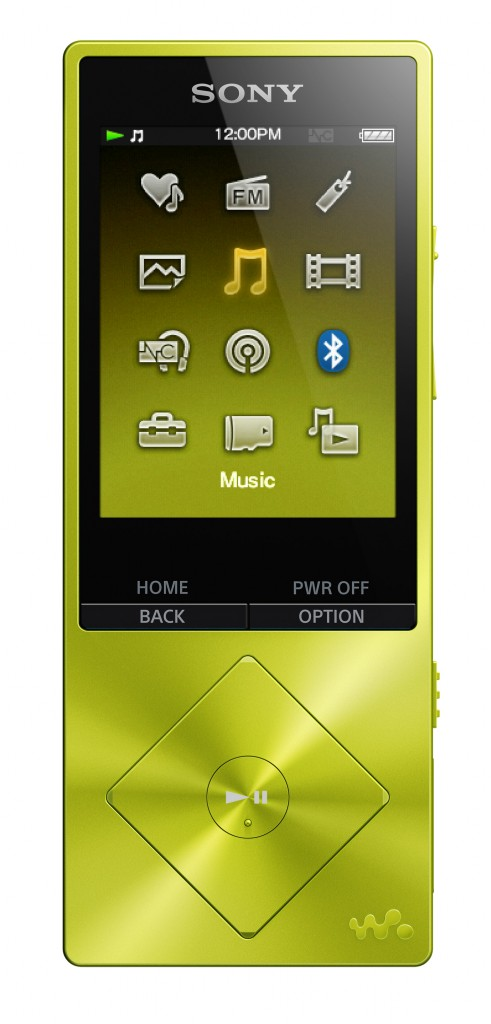 Walkman_NW A25_Green