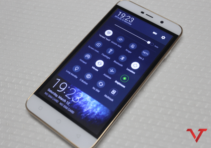 Coolpad Note 3 Lite Notification Center