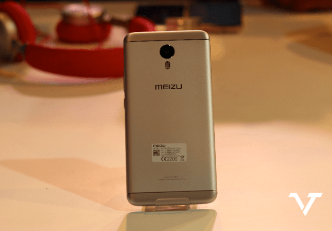 Meizu M3 Note Back