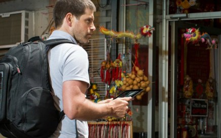 Voltaic Systems, The 'sun-powered' company, solar backpack