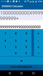 BODMAS Calculator Android