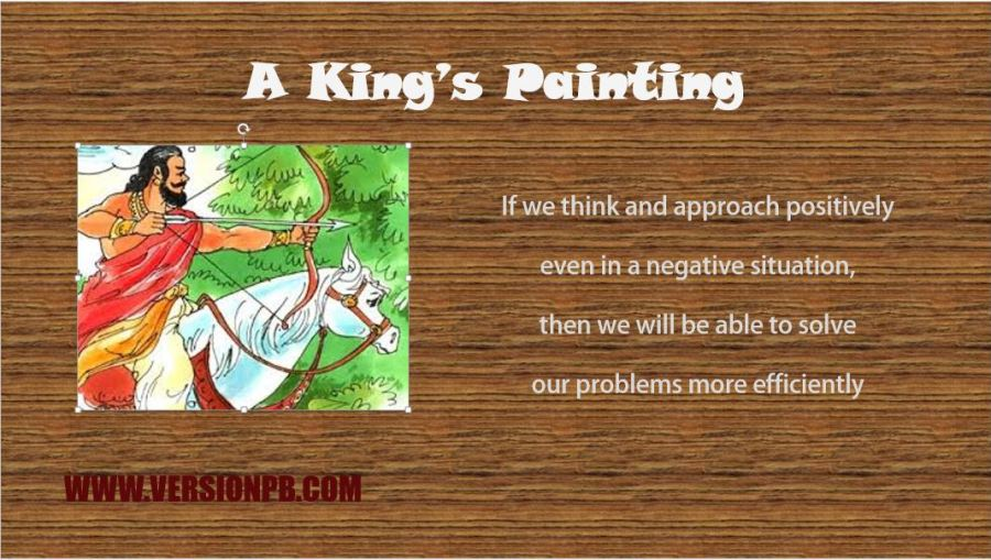 Short Story on Kings Painting