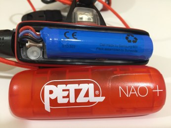 lampe frontale Petzl NAO ® + (17)