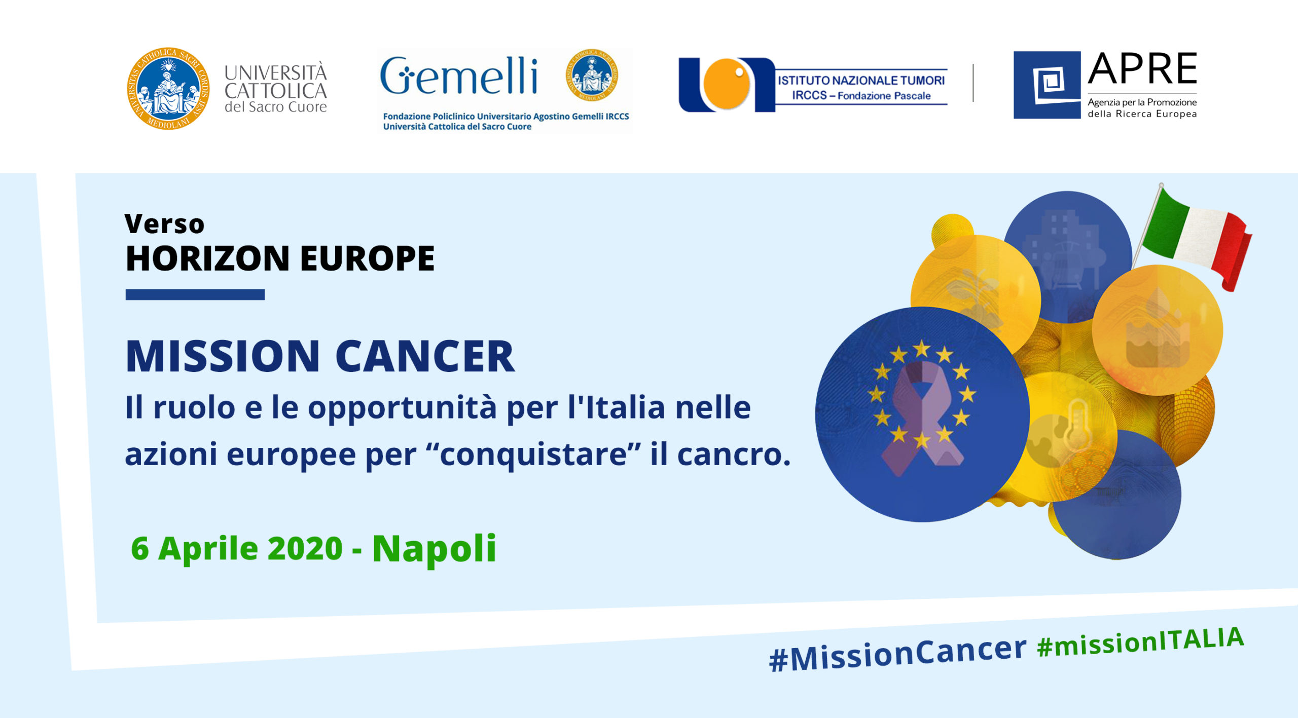 Mission Cancer_evento a Napoli