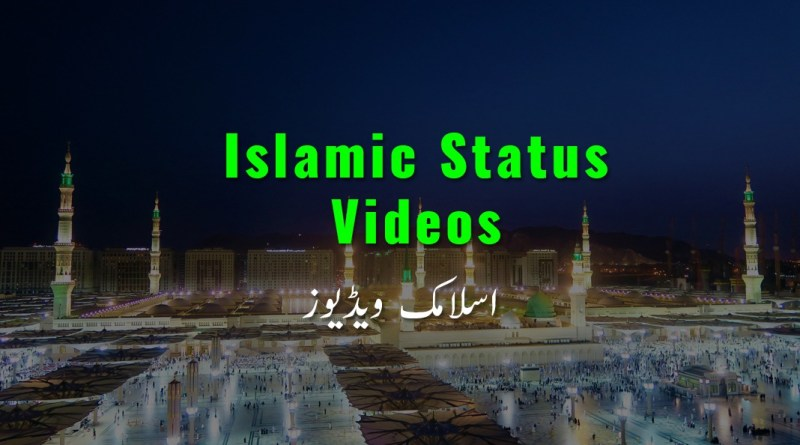 Latest Best Islamic Whatsapp Status video download
