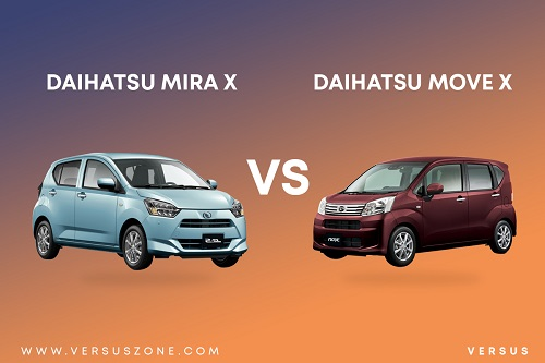 Daihatsu Mira X VS Daihatsu Move X / Move vs Mira / Move or Mira which is better