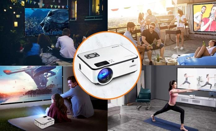 SWZA Portable Projector vs SHIMOR Mini Projector | Which one is best Portable Projector ?
