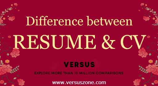 Resume vs CV – What's the difference? The Difference Between Resume and CV: Which One Should I Use?