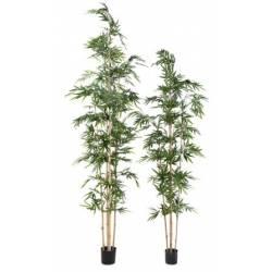 bambous artificiels vert espace
